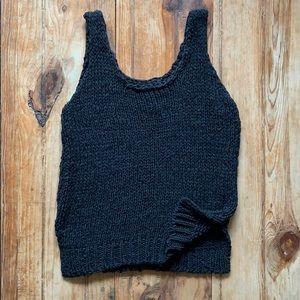 J.O.A. Knit Sweater Tank Top